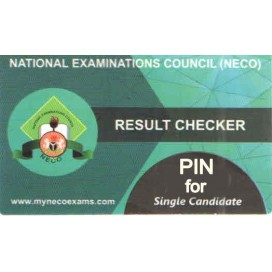 NECO RESULT CHECKER E-PIN