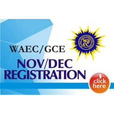 WAEC/GCE (Nov/Dec) Registration Form PIN