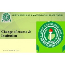 JAMB Change of Course/Institution PIN